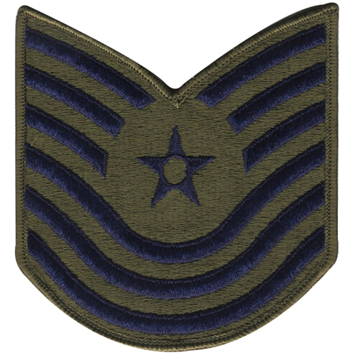 USAF Master Sergeant 1986-1992 Patch