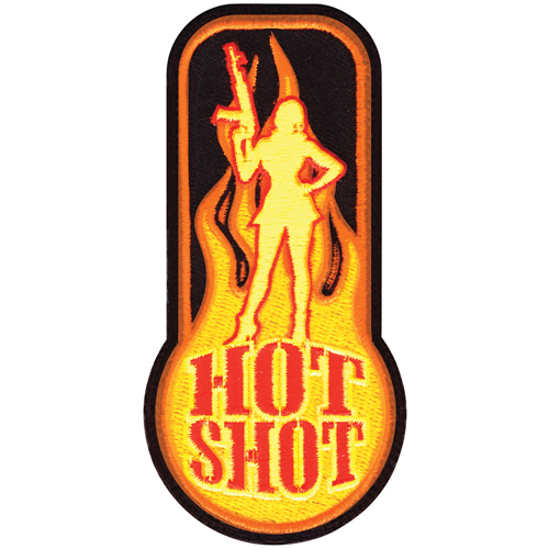 Red Hot Shot Morale Patch