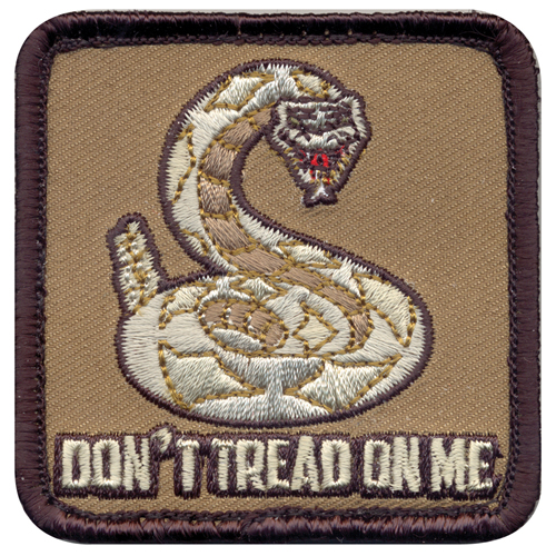 Dont Tread On Me Morale Patch