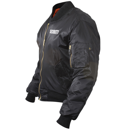 Mens MA-1 Flight Security Jacket