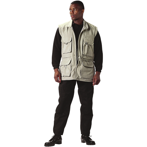 Mens Convertible Safari Jacket