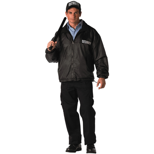 Mens Security Reversible Nylon Polar Fleece Jacket
