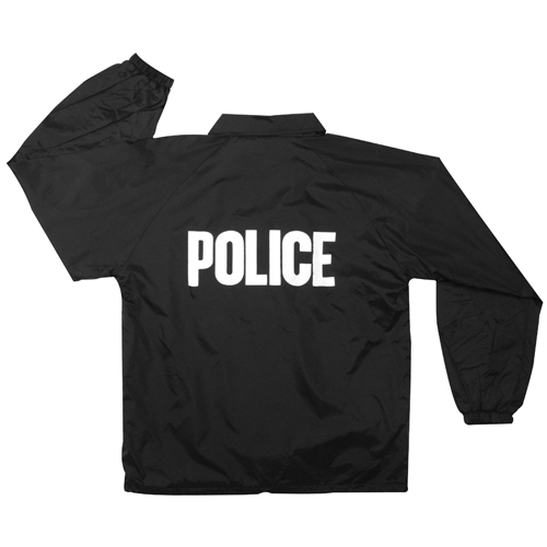 Mens Lined Coaches Police Jacket