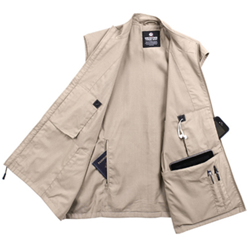 Mens Undercover Travel Vest