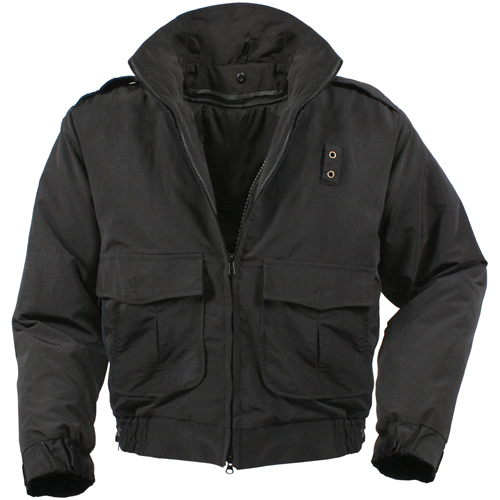 Mens Water Repellent Duty Jacket with Liner
