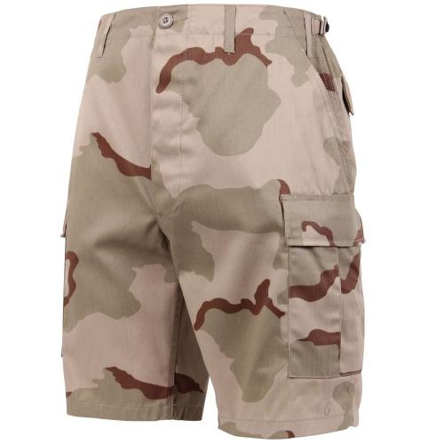 Mens Camo BDU Shorts