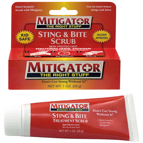 Mitigator Sting And Bite Treatment Scrub