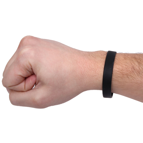 Insect Repellent Black Wristband