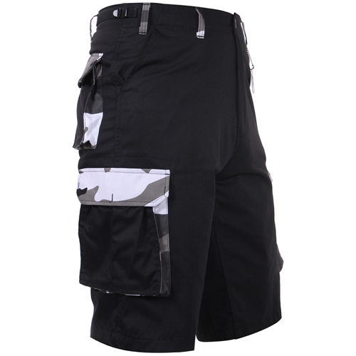 Mens Camo Accent Shorts