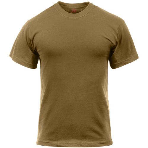 Mens Solid Color 100 Percent Cotton T-Shirt