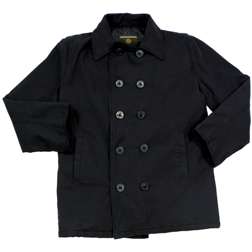 Mens Vintage Cotton Peacoat
