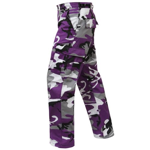 Color Camo Tactical BDU Pant