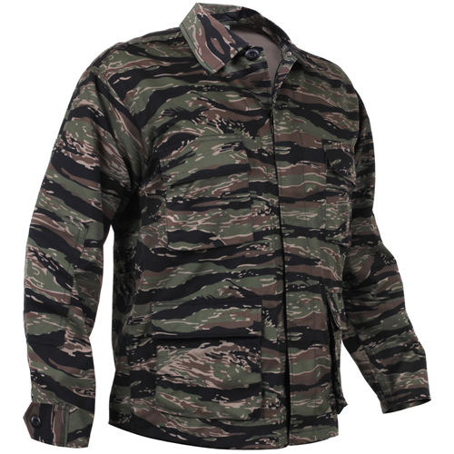 Mens Camo BDU Shirt