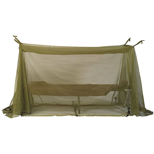 G.I. Type Enhanced Field Size Mosquito Net Bar