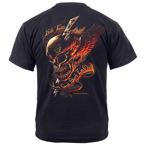 Mens Black Ink - Kill Em All T-Shirt