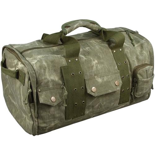 Stonewashed Zip-Top Travel Bag