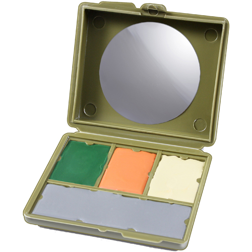 Face Paint Compact - 4 Color Multicam Camouflage