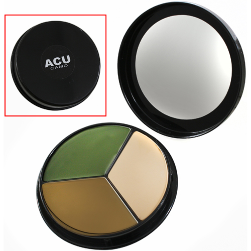 Face Paint Compact - 3 Color ACU Camouflage