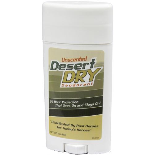 Desert Dry Deodorant - Unscented