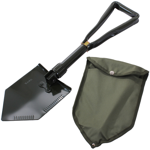 Tri-Fold with Cover Shovel