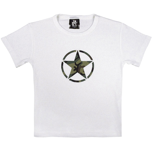 Girls Camo Star T-Shirt