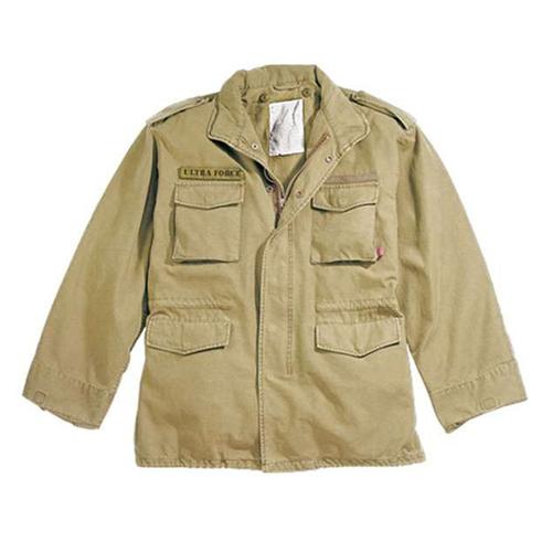Mens Vintage M-65 Field Jacket