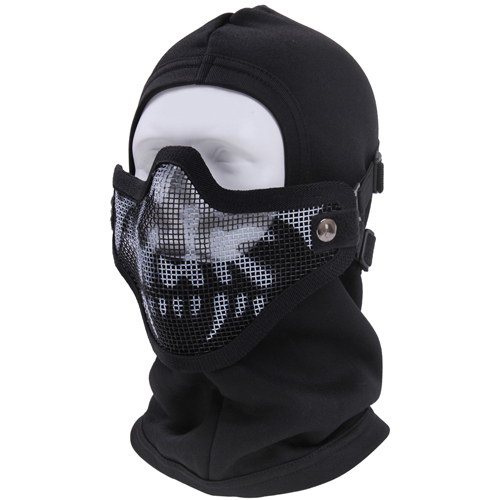 Bravo Tac Gear Strike Steel Skull Half Face Mask