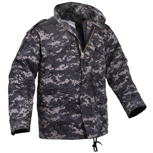 Men's M-65 Camo Field Jacket