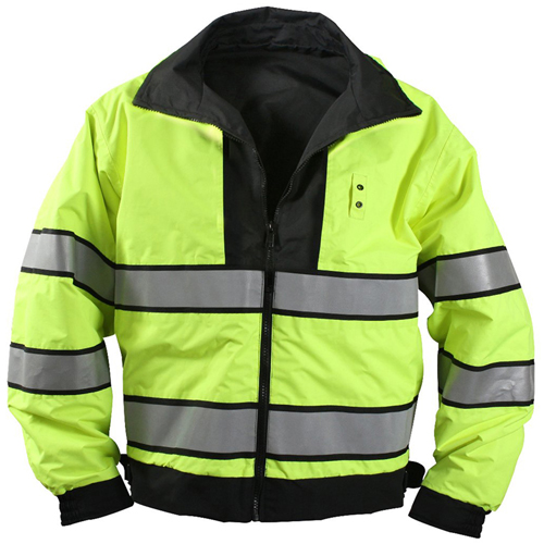 Mens Reversible Hi-Visibility Uniform Jacket