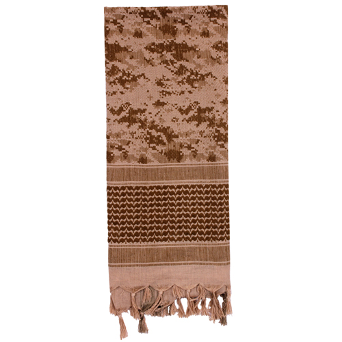 Shemagh Tactical Desert Digital Camo Scarf