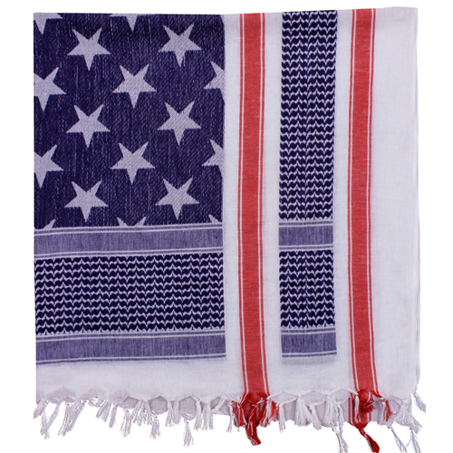 U.S. Flag Shemagh Tactical Desert Scarf