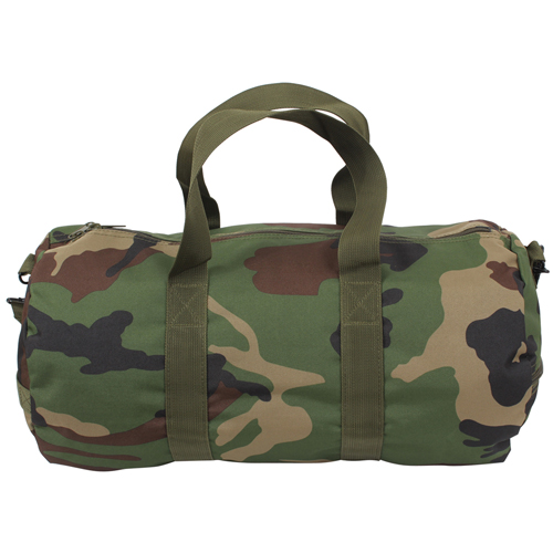 19 Inch Woodland Camo Shoulder Bag