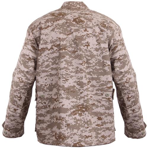 Mens Digital Camo BDU Shirt