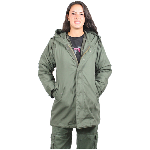 Womens M-51 Fishtail Parka