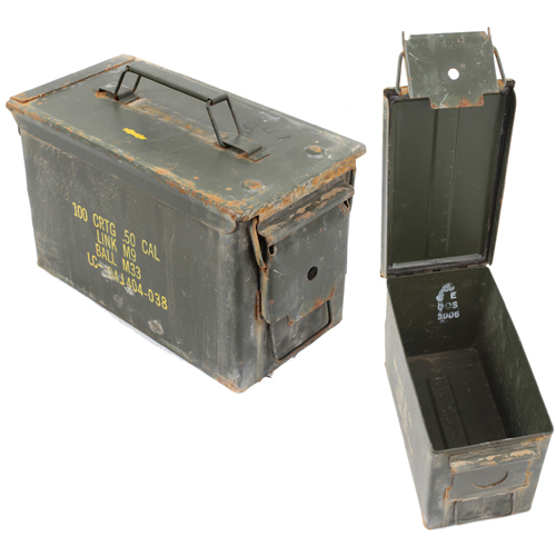 GI .50 Caliber Surplus Ammo Cans