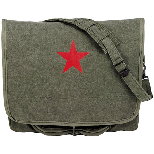 Canvas Shoulder Olive Drab Bag