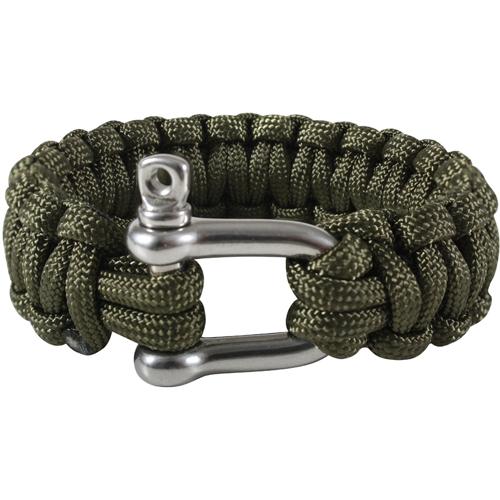 Paracord D-Shackle Bracelet