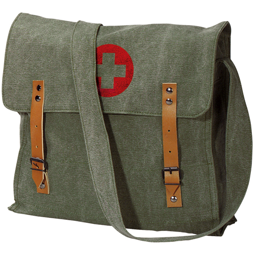 Vintage Medic W Cross Bag