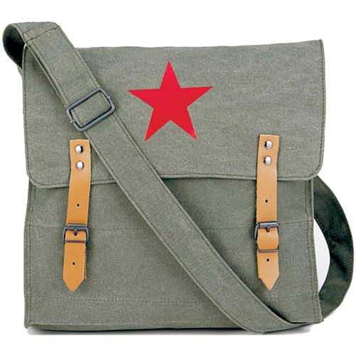 Canvas Classic Bag with Medic Star