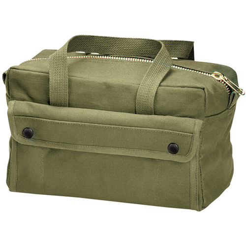 G.I. Type Mechanics Tool Bag with Brass Zipper