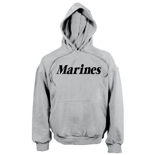 Mens Marines Pullover Hooded Sweatshirt