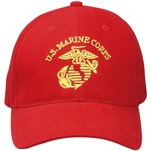 U.S.M.C. Supreme Low Profile Insignia Cap