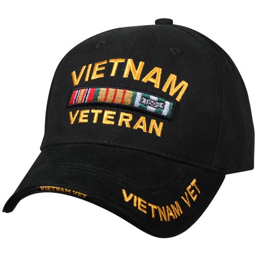 Deluxe Low Profile Vietnam Veteran Insignia Cap