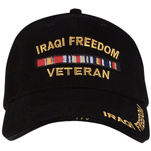 Deluxe Iraqi Freedom Low Profile Cap