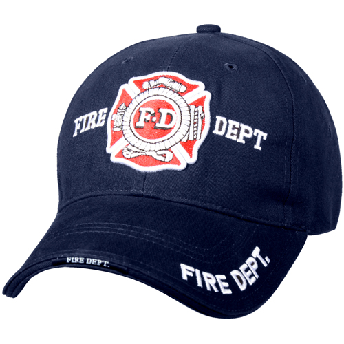 Deluxe Fire Department Low Profile Cap