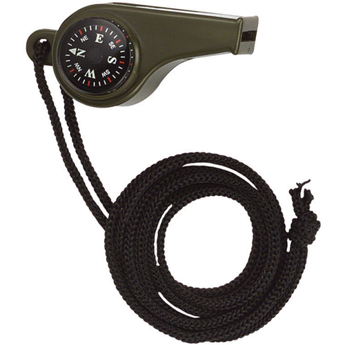 Super Whistle with Compass And Thermometer