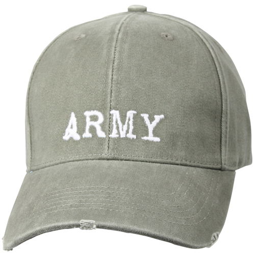 Vintage Army Low Profile Cap