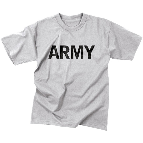Mens Army Moisture Wicking PT T-Shirt