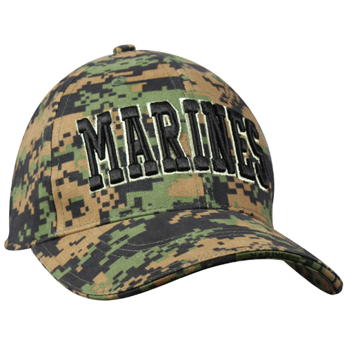 Deluxe Marines Low Profile Insignia Cap