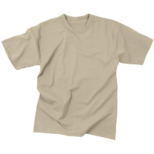 Mens Desert Sand Fire Retardant T-Shirt